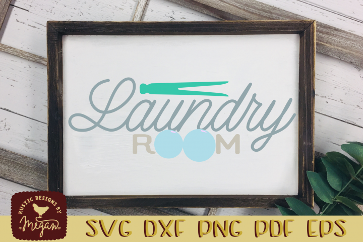 Laundry Room SVG DXF EPS Cut file