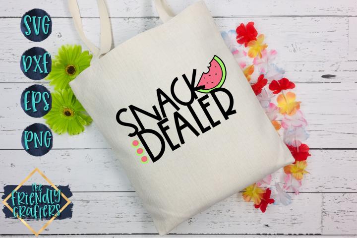 Snack Dealer - A Mom SVG