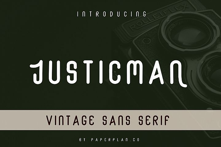 Justicman - Vintage Type Family