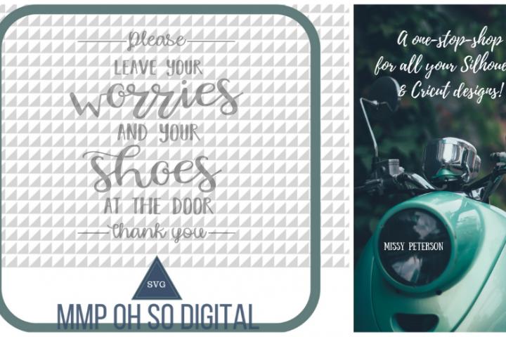 Leave Your Shoes at the Door SVG, Farmhouse svg, Farmhouse decor, cut file, for silhouette, for cricut