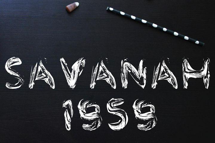 Savanah 1959 Font