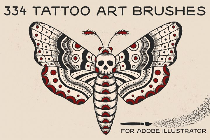 Tattoo Art Brushes for AI