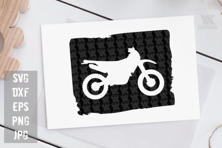 Dirtbike SVG