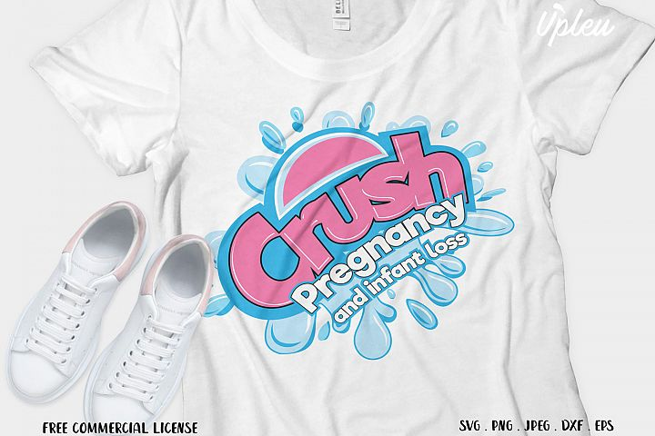 Crush Pregnancy and Infant Loss SVG