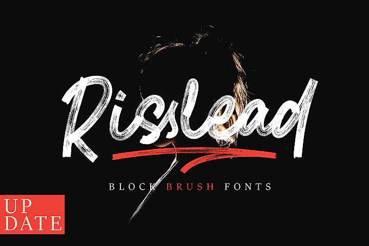 Risslead Brush Fonts