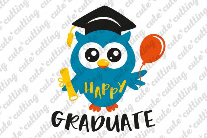 Kindergarten graduation svg, graduation svg, owl svg, dxf