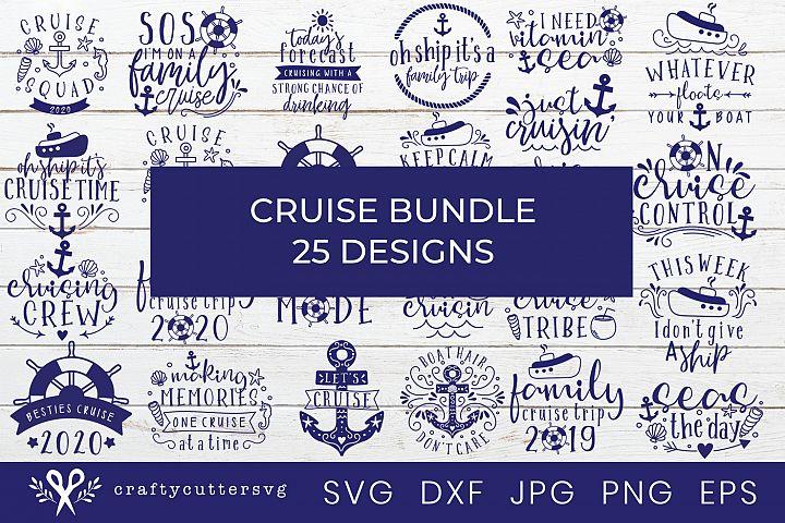 Cruise Svg Bundle 25 Designs Cruise Boat Anchor Ship Wheel