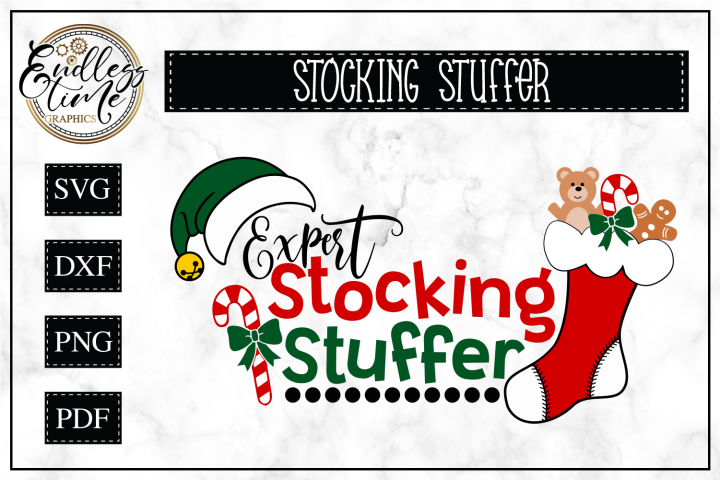 Expert Stocking Stuffer -- Funny Christmas SVG