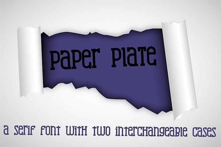 PN Paper Plate