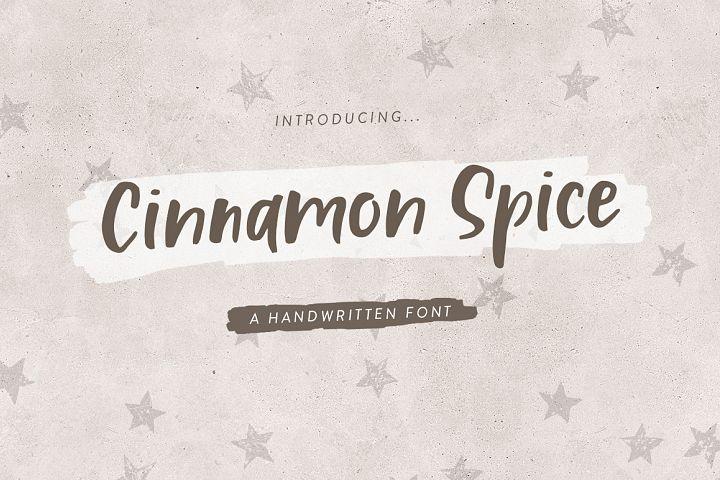 Cinnamon Spice - Handwritten Font