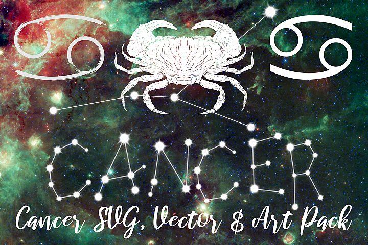 Cancer Zodiac, Constellation, Horoscope Pack