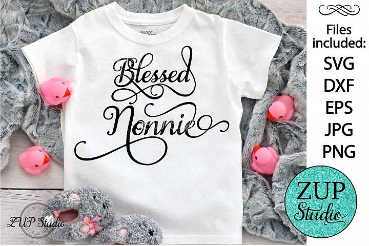 Blessed nonnie Digital Cutting files file 112