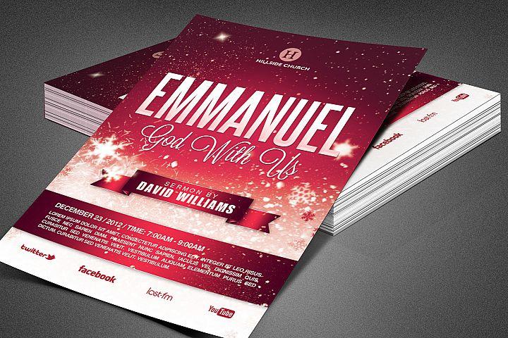 Emmanuel Church Flyer Template