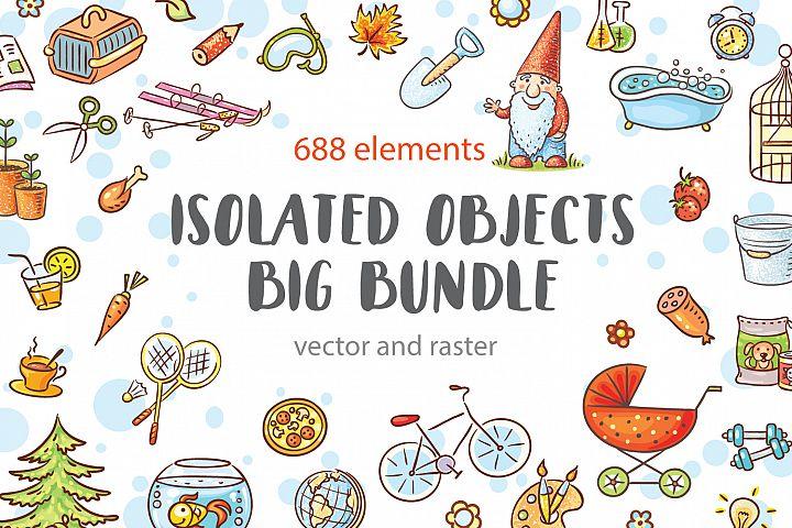 Cartoon objects bundle