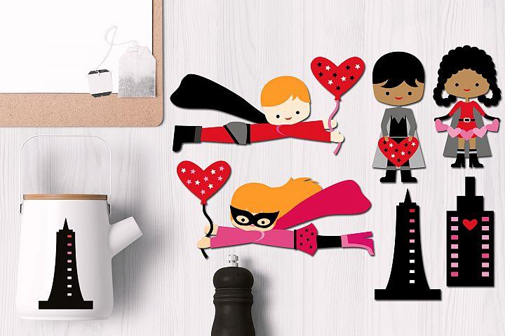 Valentine Superhero