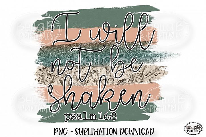 Christian Sublimation Sublimation, I Will Not Be Shaken