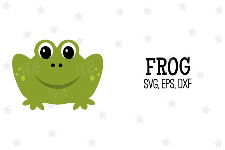 Frog SVG File