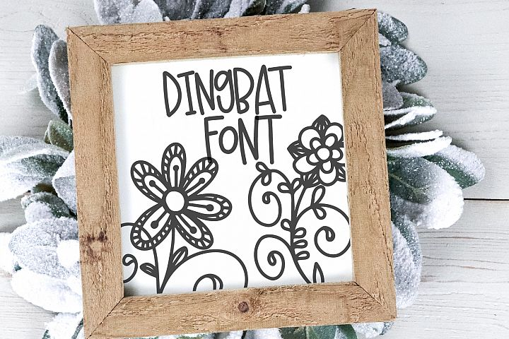 Doodle Bug - A Whimsical Dingbat and Writing Duo
