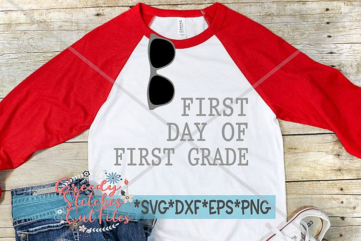 First Day Of First Grade SVG | Back To School SVG