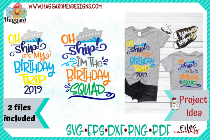 Oh Ship Birthday Bundle