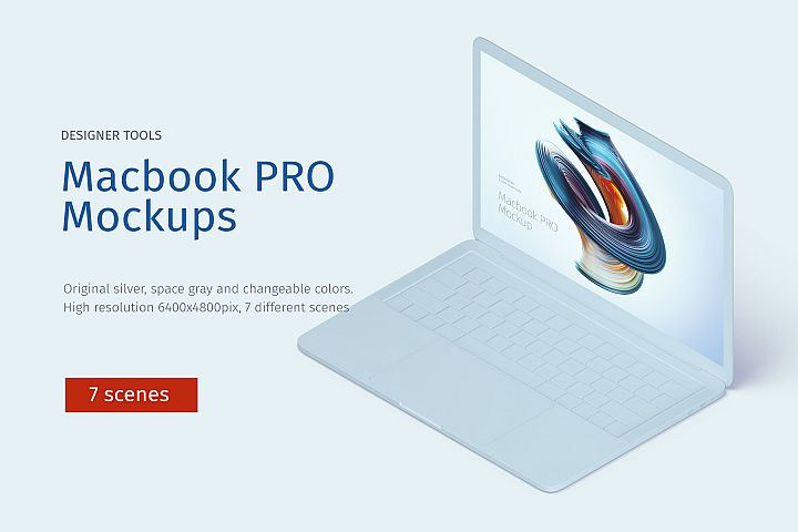 Macbook PRO Creative Mockup