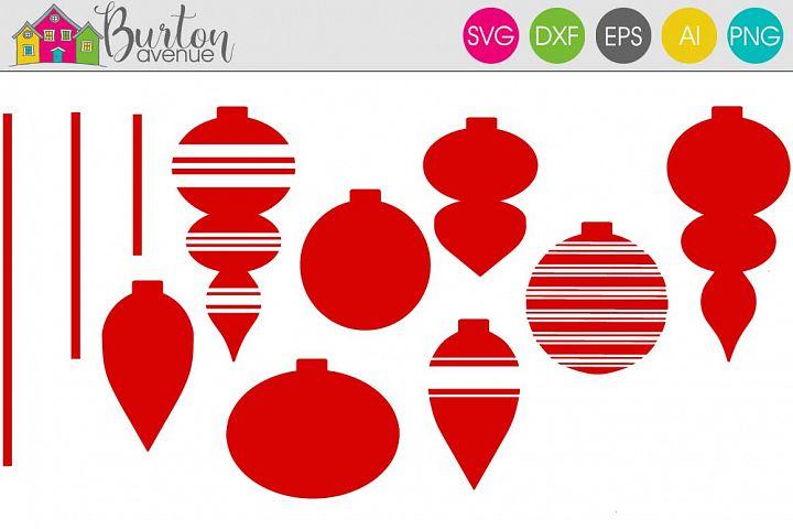 Ornaments Christmas SVG File