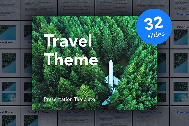 Avid Traveler PowerPoint Template