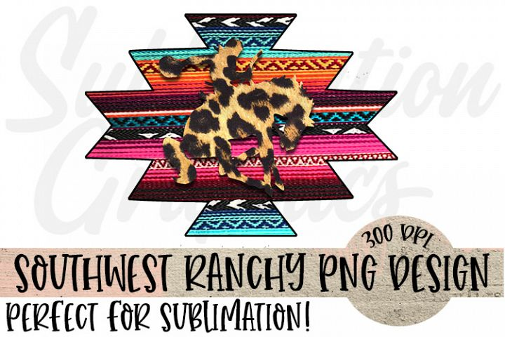 Southwest Ranchy Sublimation Digital Download