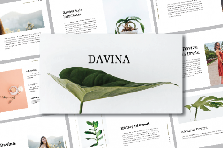 DAVINA - GOOGLE SLIDES TEMPLATES