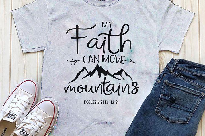 My Faith can move mountains Printable