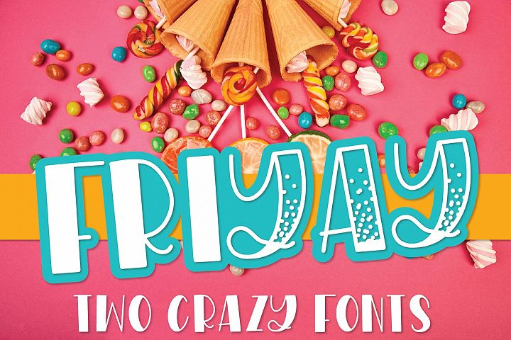 WildNight - A Hand Lettered Shimmery Font Duo example image 7