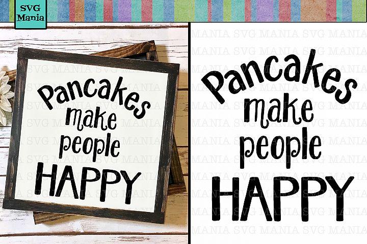 SVG File for Kitchen, Kitchen Saying SVG, Pancake SVG File