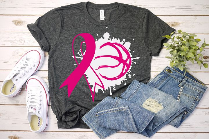Basketball cancer, tackle cancer SVG