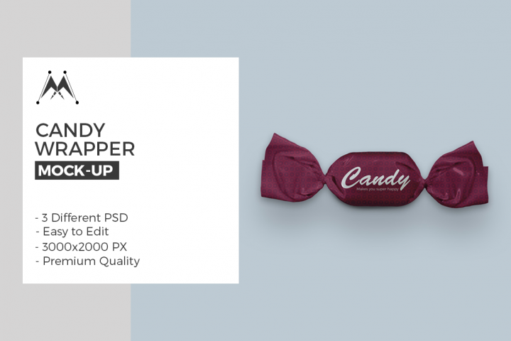 Candy Wrapper Mock-Ups