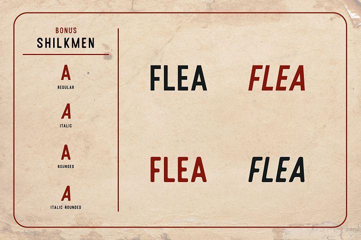 Housemate + Shilkmen Sans (Bonus) example image 4