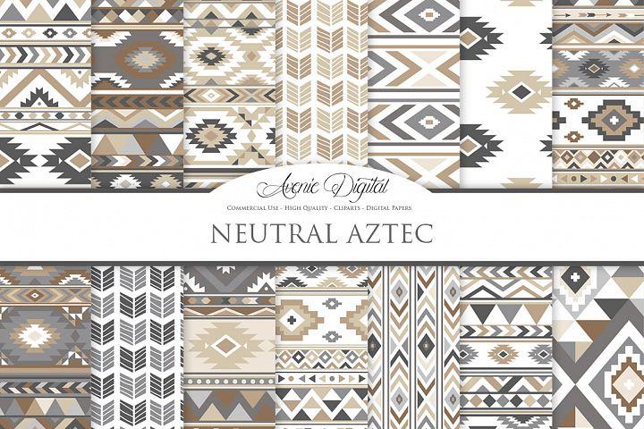 Neutral Boho Seamless Patterns