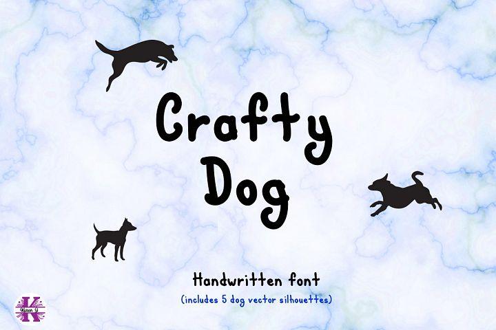 Font Crafty Dog