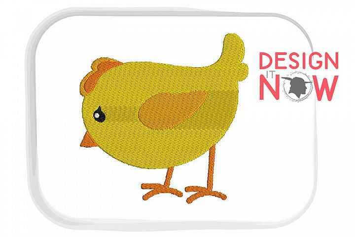 Chicken Embroidery Design, Easter Embroidery Pattern