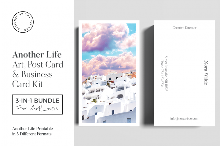 Another Life Art & Stationary Kit
