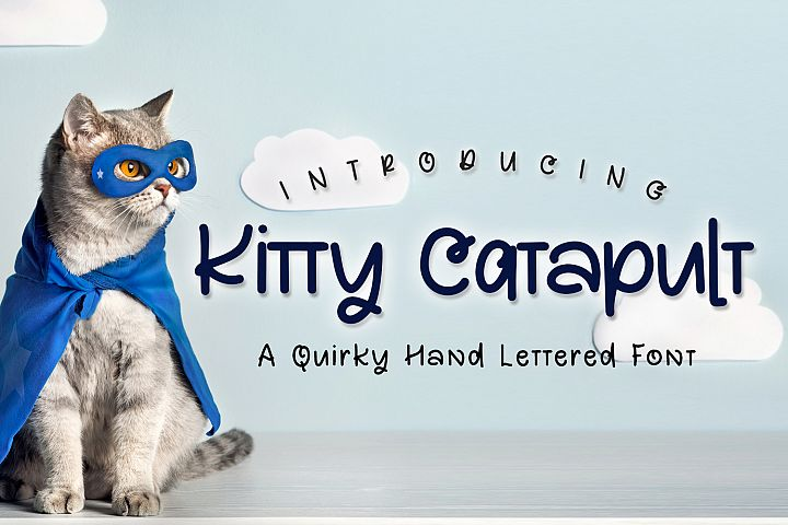 Kitty Catapult Font