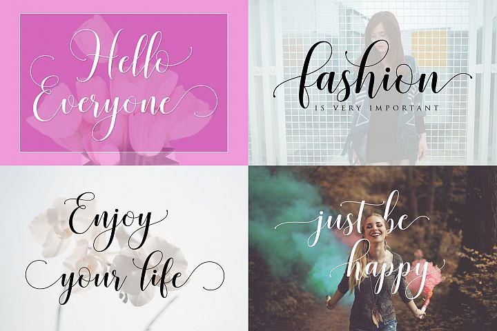 Honilad Script + Sans & Ornament - Free Font of The Week Design 2