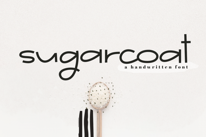 Sugarcoat - A Clean Handwritten Font