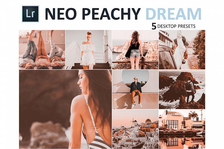 Neo Peachy Dream Desktop Lightroom Presets