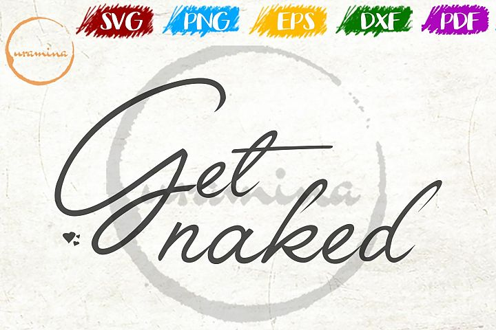 Get Naked Bathroom SVG PDF PNG