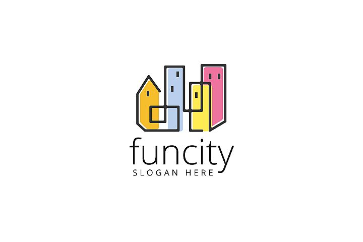 Fun City Logo Templates