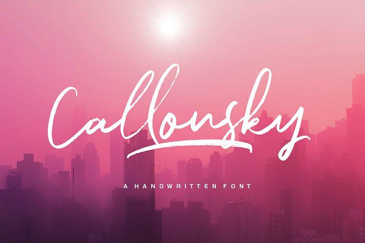Callonsky Script