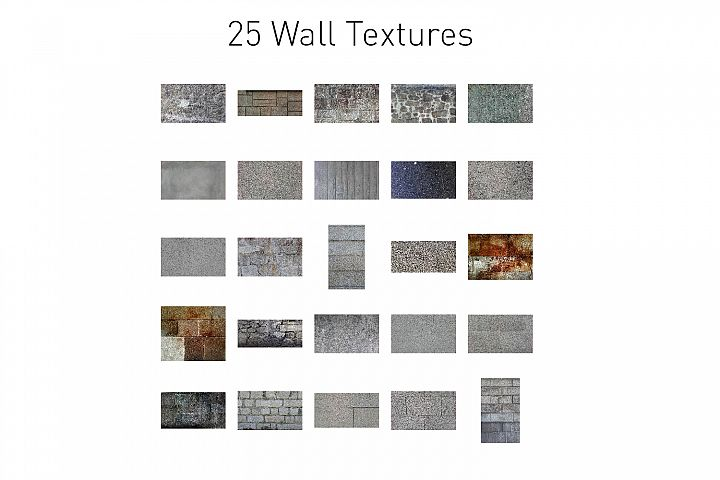 25 Wall Textures