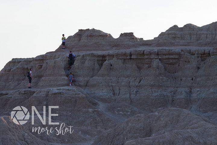 Badlands South Dakota Rock Climbing Photo