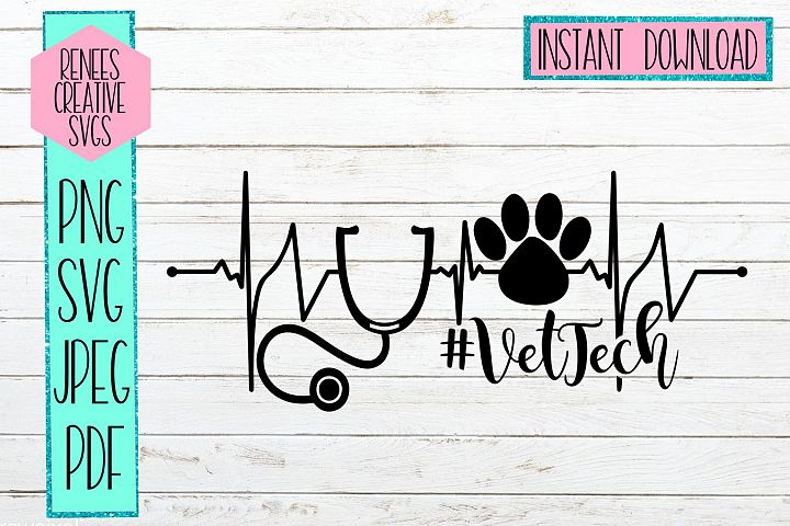 VetTech | Veterinary Tech| SVG Cutting File