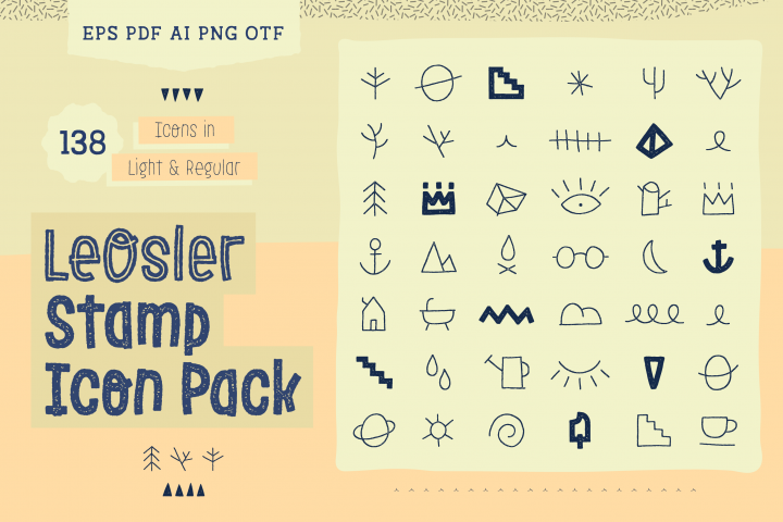 LeOsler Stamp Icon Pack